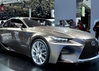 Lexus RC Coupe 2016: характеристика и цена нового купе с турбиной