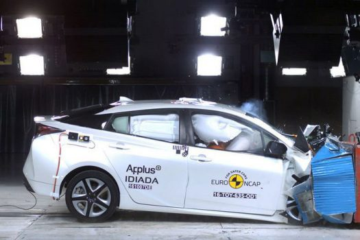 Toyota Prius краш-тесты